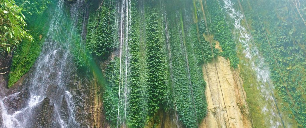 Waterfall in the highlands of West Papua