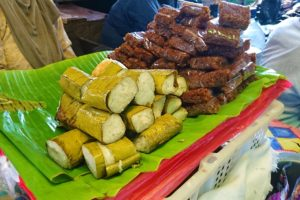 Sweets made out of Rice at the Market