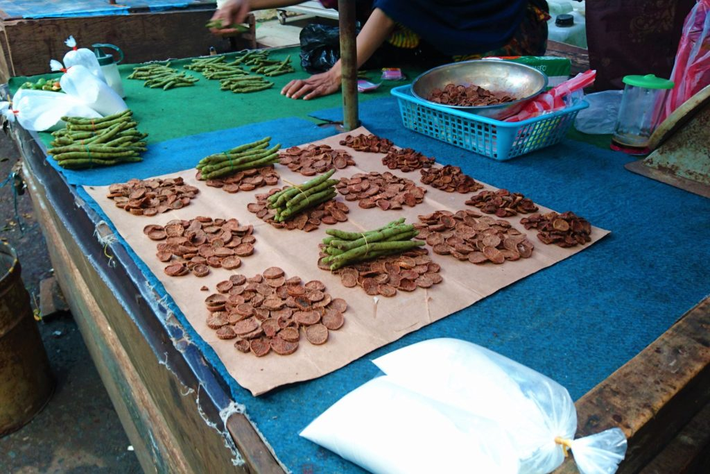 Dried slices of Betel Nut with Betel Fruit
